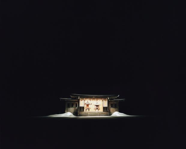 Shinzan Shrine Kaguraden