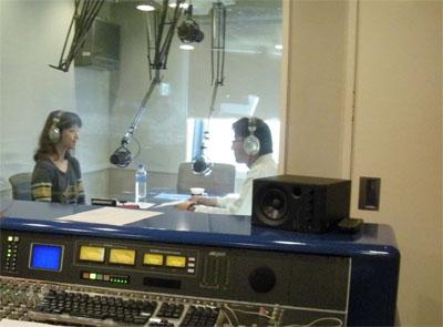 田翔子さんのラジオ番組「PULSE OF THE WORLD」